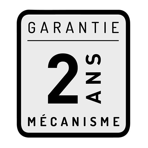 Garantie 2ans Mécanisme