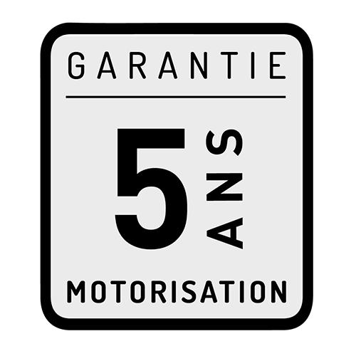 Garantie 5ans motorisation