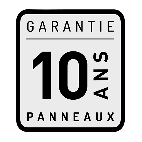 Garantie 10ans panneaux