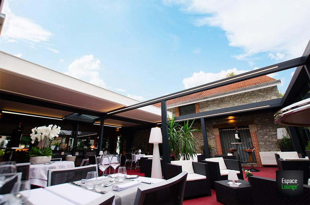 Pergola restaurant ESPACIUM