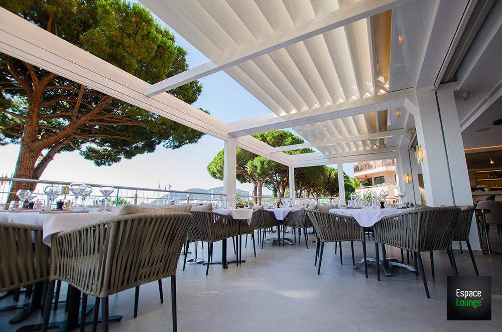 Pergola restaurant CIEL OUVAIR