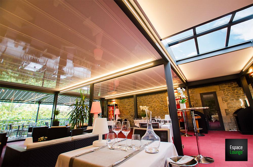 Terrasse restaurant ESPACIUM