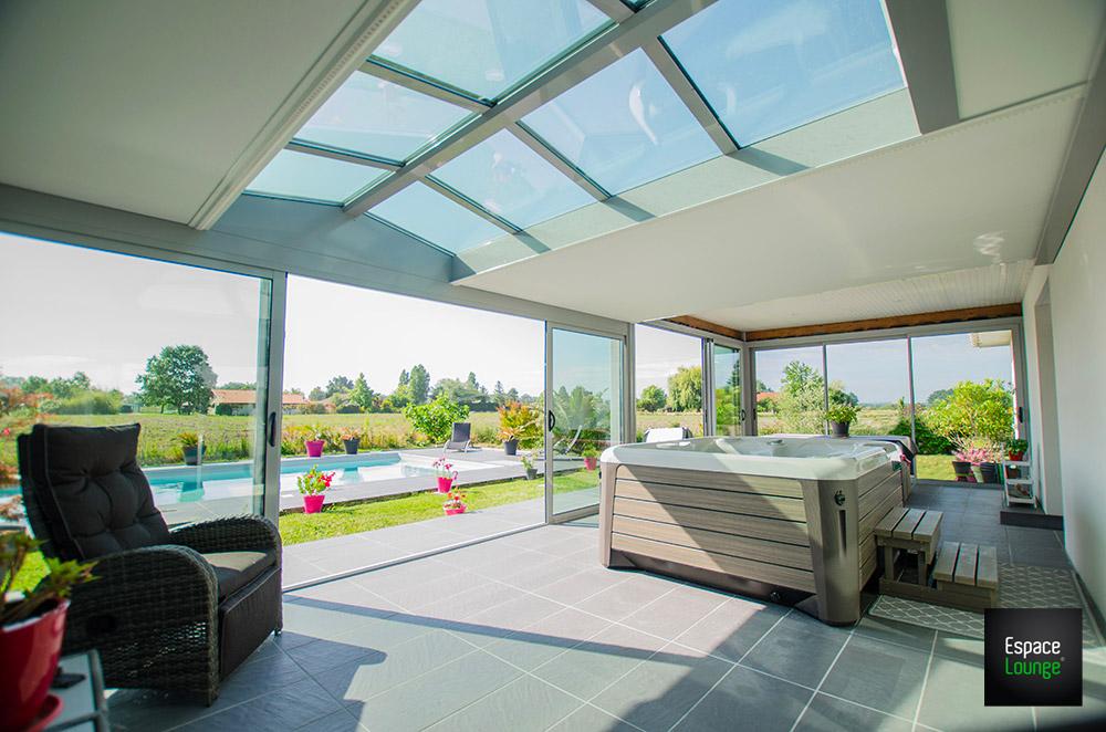 Terrasse spa ZENITH