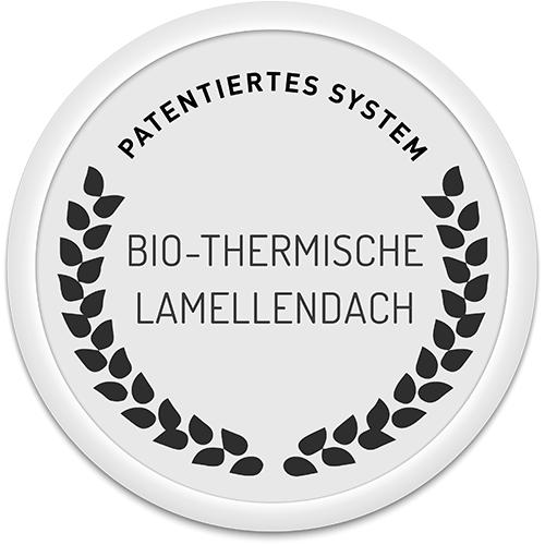 Brevet pergola biothermique