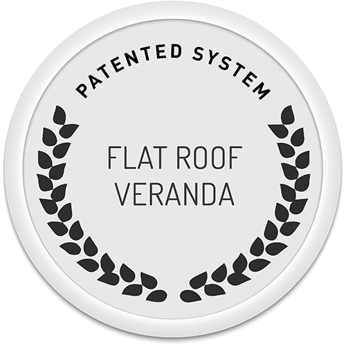 Patent – The real flat roof veranda