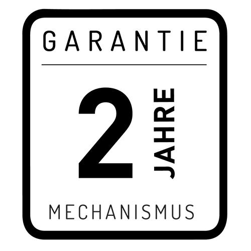 2 Jahre - Garantie der Mechanismus