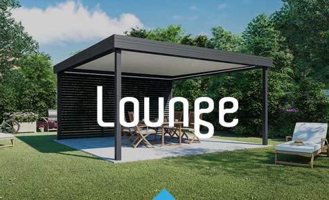 Lounge pergola